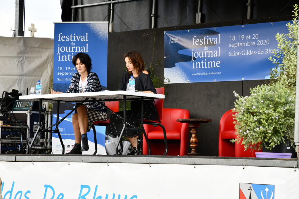Festival Du Journal Intime : C.hesme Et A.atika