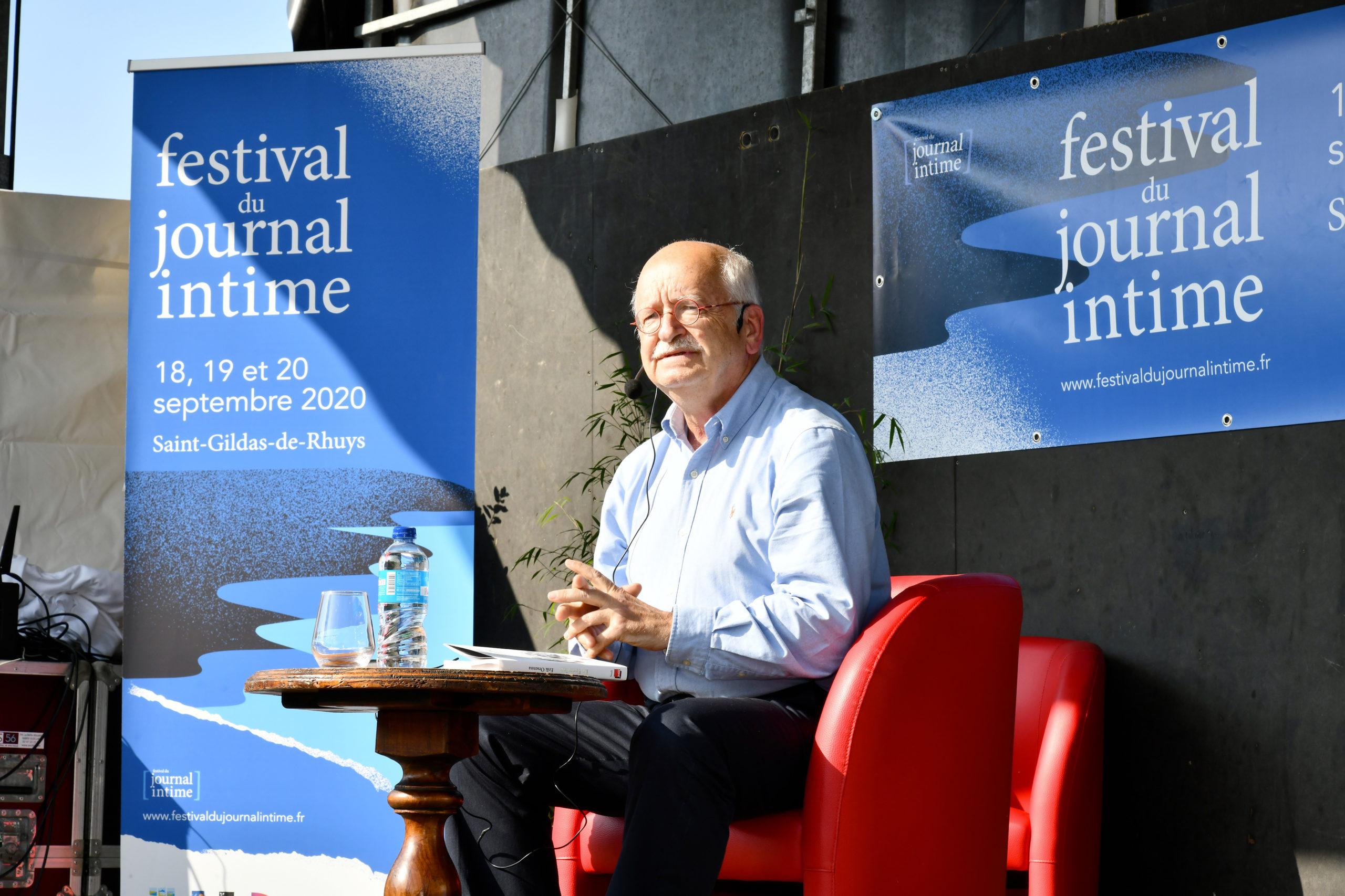 Festival Du Journal Intime : E.orsenna
