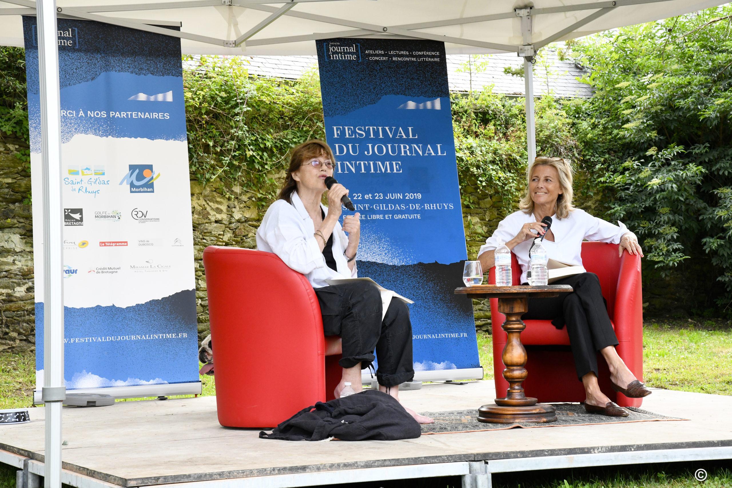 Festival Du Journal Intime : J.birkin Et C.chazal